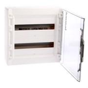 Бокс распределительный, накладной 2 ряда 18 модулей с прозрачной дверцей IP40. Цвет Белый. Legrand XL?(Легранд Иксэль?). 401657