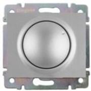 Светорегулятор поворотный 400 Вт. Цвет Алюминий. Legrand Galea Life (Легранд Галея Лайф). 775654+771368