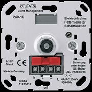 JUNG Мех Светорегулятор поворотный для электронныхных ПРА (1-10В) 240-10