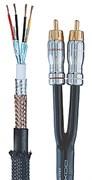 Межблочный аналоговый аудио кабель 2RCA - 2RCA DAXX R88-07 (0,75 метра)