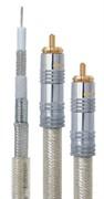 Межблочный коаксиальный аудио кабель с посеребренными жилами 2RCA - 2RCA DAXX R98-07 (0,75 метра)