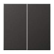 JUNG LS 990 Антрацит Клавиша 2-ая AL2995AN