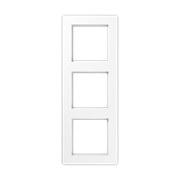 Jung A Flow - Рамка 3-ая, цвет белый AF583BFWW