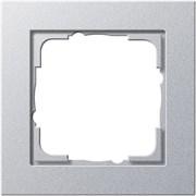 Обладающая повышенной прочностью Рамка одноместная Gira E2 Алюминий