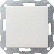 Клавишный выключатель с самовозвратом 10 А / 250 В~ в сборе Gira System 55 Белый Матовый