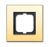 Рамка 1-пост, ABB carat® цвет золото