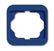 Рамка 1-пост, ABB alpha цвет синий