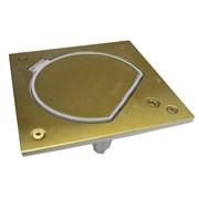 Simon Connect Латунь Влагостойкая основа IP66 с замком на 1 модуль K45 (KSE0SEC-23-71)
