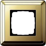 Рамка Gira ClassiX одноместная Латунь 0211631