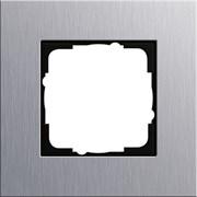 Рамка 1-пост, Gira Esprit Алюминий 021117