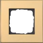Рамка 1-пост, Gira Esprit Латунь 021119