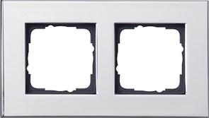 Рамка 2-пост, Gira Esprit Хром 021210