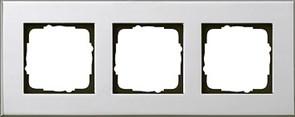 Рамка 3-пост, Gira Esprit Хром 021310