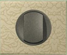 Рамка одноместная Legrand Celiane Текстиль орнамент