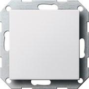 Заглушка с опорной пластиной Белый 026803