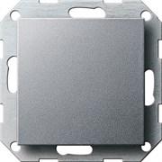 Заглушка с опорной пластиной Алюминий 026826