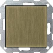Заглушка с опорной пластиной Gira System 55 Бронза 0268603