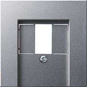 USB розетка в сборе Gira System 55 Алюминий