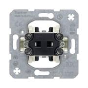 Одноклавишный переключатель (проходной) Berker Модульные механизмы 3036