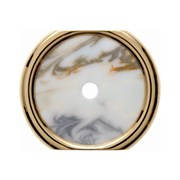 Декоративная промежуточная накладка для поворотных выключателей/кнопок, Berker Palazzo цвет: Белый 109510