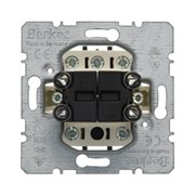 Механизм 1-полюсного двухкнопочного выключателя с 4-мя замыкающими контактами Berker 503404