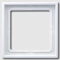 Рамка одинарная Jung LS 990 Белый LS981ww - фото 10127