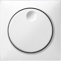 Лицевая панель светорегулятора, Merten Antique цвет: полярно-белый - фото 14481