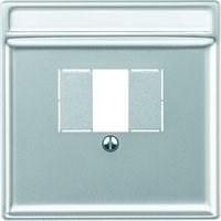 Лицевая панель для телекоммуникационной розетки TAE, Merten Antique цвет: полярно-белый - фото 14613
