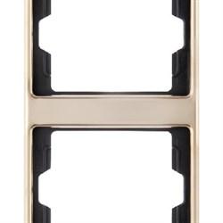 Рамка 2-поста вертикальная, Berker Arsys copper Med цвет: медь13230007 - фото 3672