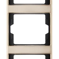 Рамка 3-поста вертикальная, Berker Arsys copper Med цвет: медь 13330007 - фото 3674