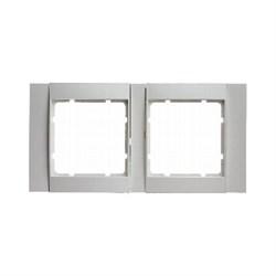 Рамка 2-поста горизонтальная, Berker B.1 цвет: Белый , матовый 10221909 - фото 3696