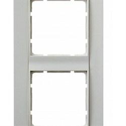 Рамка 4-поста вертикальная, Berker B.1 цвет: Белый , матовый 10141909 - фото 3701