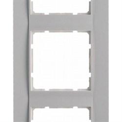 Рамка 5-постов вертикальная, Berker B.1 цвет: Белый , матовый 10151909 - фото 3703
