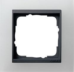 Рамка 1-пост для центральных вставок антацит, Gira Event Белый - фото 3897