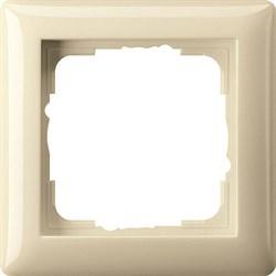 Рамка 1-пост, Gira Standart 55 Кремовый - фото 3984