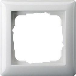 Рамка 1-пост, Gira Standart 55 Белый - фото 3985