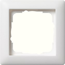 Рамка 1-пост, Gira Standart 55 Белый Матовый - фото 3986