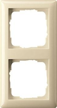 Рамка 2-поста, Gira Standart 55 Кремовый - фото 3987