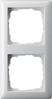 Рамка 2-поста, Gira Standart 55 Белый - фото 3988