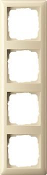 Рамка 4-поста, Gira Standart 55 Кремовый - фото 3993