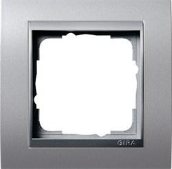 """Рамка 1-пост для центральных вставок """"алюминий"""", Gira Event Алюминий - фото 4062"""