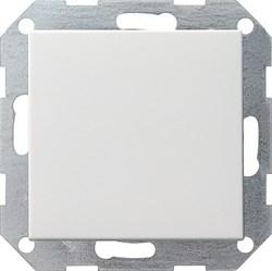 Клавишный выключатель с самовозвратом проходной 10 А / 250 В~ в сборе Gira System 55 Белый - фото 4098