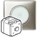 Выключатель для управления освещением с двух мест, сенсорный с нейтралью 1000Вт, Legrang Celiane - фото 4492