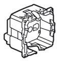 Розетка с заземлением на безвинтовых зажимах, немецкий стандарт, Legrand Celiane - фото 4549