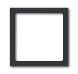 Рамка 1-пост, ABB carat® цвет антрацит - фото 4581
