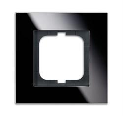 Рамка 1-пост, ABB carat® цвет чёрный - фото 4586