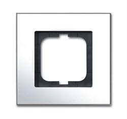 Рамка 1-пост, ABB carat® цвет хром - фото 4587