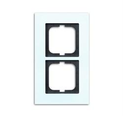 Рамка 2-поста, ABB carat® цвет Белый - фото 4589
