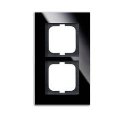 Рамка 2-поста, ABB carat® цвет чёрый - фото 4591