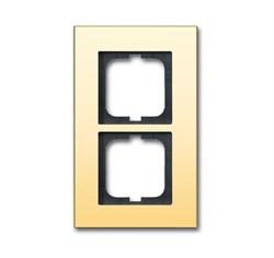Рамка 2-поста, ABB carat® цвет золото - фото 4592